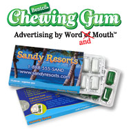 Bentcil Chewing Gum - Advertising by Word and Mouth