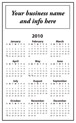 Vertical Oriented Calendar / Logo on Top thumbnail
