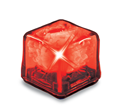 UltraGlow Red Ice Cube thumbnail