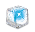 UltraGlow Clear w/ Blue LED Ice Cube thumbnail
