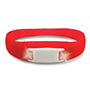 Pulse Bracelet - Red w/ White LEDs thumbnail